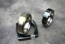 Men's Titanium Rings / Men's Rings, Men's Wedding Rings, Men's Titanium Rings #titaniumrings #menstitaniumrings #mensrings