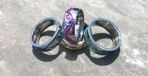 Colored Titanium Rings / Genuine Colored Titanium Rings. Choose a color for your band that is special to you.