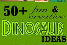Library Storytime: Dinosaurs / Dinosaur crafts for kids and storytime ideas