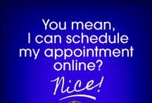 Schedule Online Appointments / Now you can schedule your appointment online!