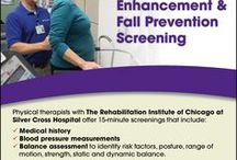 Free Balance Enhancement & Fall Prevention Screening / Rehabilitation Institute of Chicago at Silver Cross
