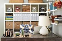 Office Craft Room Ideas / by Jennifer Schell