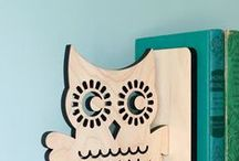 Owl Nursery / We give a hoot about owls because they are so dang cute! Check out our unique owl nursery decor finds. / by weeDECOR