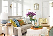 Inspiring Rooms & Spaces / Pretty rooms, inspiring spaces and clever projects for the home.