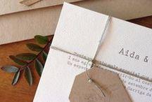 Bodas Tinta Gris / #Bodas, #invitaciones, #sobres #eventos #DIY #hechosamano #caligrafia y más... #Weddings, #Invitations, #envelopes #handmade and more...