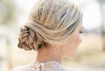 Wedding Hairstyles / My favorite Wedding Hairstyles; updo's side ponytails & pin curl looks. Wedding hairstyles that inspire different ways to add hair flowers, combs or veils.