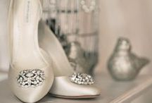 Bridal Heels / Walk down the aisle in pride in these show stopping shoes.