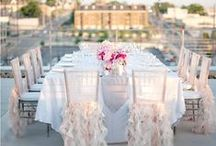 Table Glamour Decor / For Glamorous Wedding Table Decorations, Whimsical Table Linens & Chair Covers plus Elegant Centerpieces.