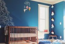Blue Nursery / Inspiring blue baby nurseries we've found across Pinterest and online. Add your favorites! / by weeDECOR