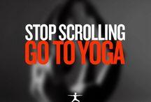 Yoga / ~~~~~ Y  O  G  A  ~~~~~ / by Elaine A. Jelleyman Meier