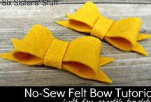Crafts: headbands & bows & hats