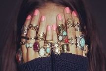 Look @ My Rings, My Rings, My Rings / An inspiration board full of gorgeous rings that would make Ellie Torres sing! Be sure to stop by BaublesOfFun to browse our collection of ring findings and embellishments. https://www.etsy.com/shop/BaublesOfFun