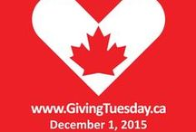 GivingTuesday / #GivingTuesdayCa is on December 1st!  Giving Tuesday Canada is a new Canadian movement for giving and volunteering, taking place each year after Black Friday and Cyber Monday. #GivingTuesday is the opening day of the giving season.