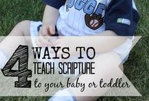 Faith (toddler friendly ideas) / by Alexandra Britt