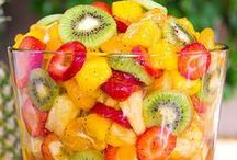 Food-Salads / Different kinds of salads: sweet, savory, or sides for anytime of year.