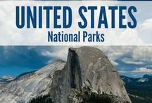 US National Parks / The USA has tons of national parks to take advantage of. This board includes US National Park travel guides, National Park Itineraries, National Park travel tips, the best hiking trails in National Parks, the best photo spots in National Park, packing lists for National Parks in the US, and much more.
