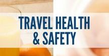 Travel Health & Safety / When you're traveling, your health and safety should be the top priority. This board includes travel safety tips, healthy food options, meals and snacks while you travel, fitness tips before your vacation, workouts to do on a trip, how to stay fit while traveling, how to sleep while traveling, how to boost your immune system while traveling and much more.