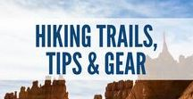 Hiking Trails, Tips & Gear / Hiking is a great way to get out and explore nature. This board is all about hiking trails, tips to help you prepare for a hike, hiking guides, trail hike information, best hikes in the world, snacks to bring on a hike, hiking gear, hiking safety tips, and much more!