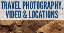 Travel photography, video and locations / Here are some of our best travel photography tips. It includes travel video tips, how to take videos with your phone, tips for using a GoPro, how to take pictures with your smart phone, what you should have in your travel photography kit, our favorite travel photography gear, photography locations around the world and much more.