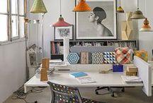 STUDIO, LIBRERIE e CRAFT ROOM: idee dal web - bookshelves and craft rooms