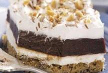 Desserts (bars, trifles, crumbles, etc.) / by Jen H