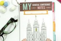 general conference ideas / by The Red Headed Hostess