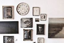 HOME / Gallery Walls / Gallery wall inspiration and tutorials for art walls, frames, home decor, etc.
