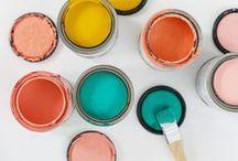 DESIGN / Color palettes / Find inspiring color palettes for painting your home or for design.