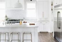 HOME / Kitchen / Rustic, industrial, farmhouse kitchen inspiration and design for kitchen remodels or styling.