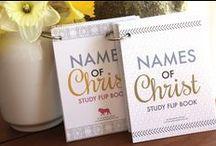 scripture study - flip books / These little books come in as a PDF download that you print yourself and teach of Scripture stories, doctrines and fun facts.  They are great for all ages!!  / by The Red Headed Hostess