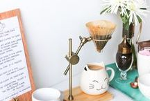 RECIPES / Coffee / Coffee recipes, coffee drinks, coffee flavored food, coffee bar, coffee tricks, etc.