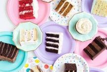 """RECIPES / Cakes / Julia Child said, """"A party without cake is just a meeting."""" Find cake recipes for parties, weddings, tutorials for cake decorating, and DIY cake toppers!"""