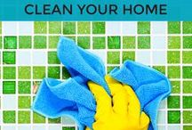 Sparkling Clean Home / Cleaning tips and tricks to keep the home sparkling