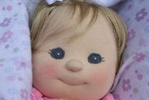 Making Doll & Doll Clothes / All types of dolls and how to make them and their clothes. / by Beth Allard Plexus Ambassador