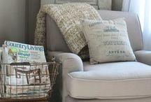 Cozy reading spaces / by Karen Klein