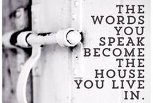 The power of words / I like good strong words that mean something