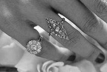 antique + engagement rings