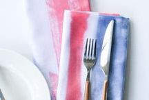HOLIDAY / 4th of July / 4th of July holiday inspiration including red, white, and blue recipes, crafts, decorations, parties, and patriotic home decor.