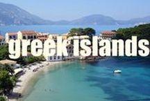 Greek Islands / Travel inspiration from the beautiful Greek islands