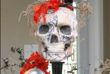 Skull themed Party Ideas / Ideas for a macabre styled Halloween party. / by Cupcake Wishes & Birthday Dreams