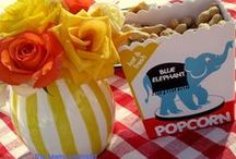 Carnival Party Inspiration / Inspiration for backyard or penny carnival