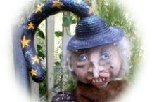 Folksy Dolls & Crafts / my handmade folksy dolls / by Blondee Spence