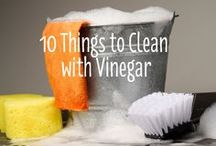 Cleaning tips / by Margo Velasco Moulton