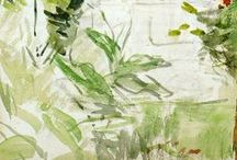 Watercolor and Ink / Examples for Watercolor class / by Gale Antokal