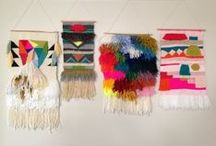 Weaving / Tapestry / by julie Monceau