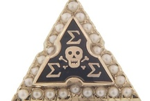 Tri Sigma Sisters and Stuff / Things that make me say 'SigmaSigmaSigma' and feed my Skull Obsession. / by Laura L Albrecht