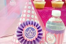 Princess Party Ideas / A perfect party for a delightful little princess with printables and stylings by Cupcake Wishes & Birthday Dreams / by Cupcake Wishes & Birthday Dreams
