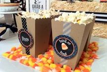 Halloween Hoedown by Cupcake Wishes & Birthday Dreams for MG Party Impressions / Ideas and inspiration for throwing a kid-friendly Halloween Howedown