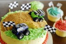 Monster Truck Party Ideas / Fun ideas for throwing a Monster Truck party for kids.