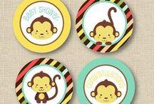 Little Monkey Party Ideas / Little Monkey Party Ideas